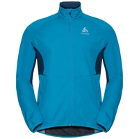 Jacket AEOLUS ELEMENT WARM  FAN, blue jewel - poseidon, large