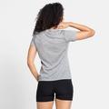 T-shirt CONCORD da donna, stone grey melange - mountain graphic SS21, large