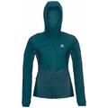 Women's MILLENNIUM S-THERMIC Running Jacket, submerged, large