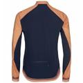 Women's ZEROWEIGHT DUAL DRY Cycling Jacket, papaya - diving navy, large