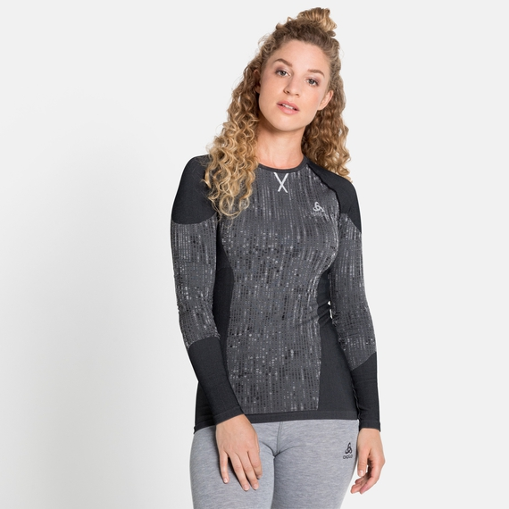 Damen BLACKCOMB Baselayer-Top, black, large