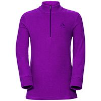 Midlayer 1/2 zip ROY KIDS, pickled beet - beetroot purple, large
