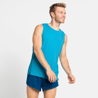 Men's ZEROWEIGHT CHILL-TEC Running Tank, horizon blue, large