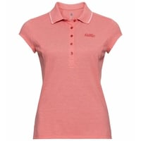 Women's KUMANO Polo Shirt, lantana melange, large