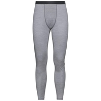 Herren NATURAL + LIGHT Funktionsunterwäsche Hose, grey melange, large