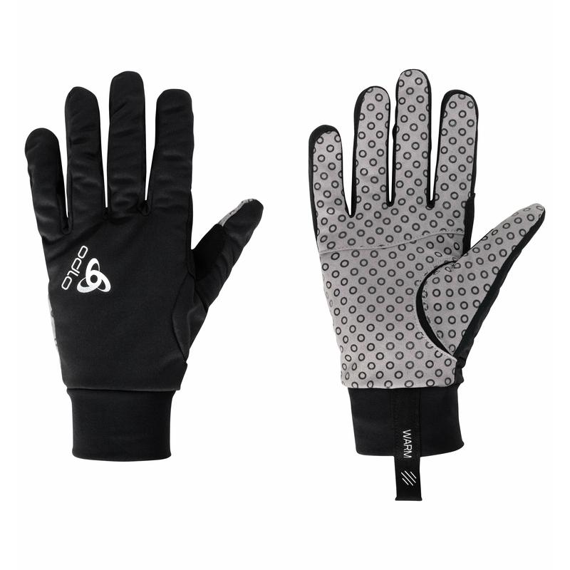 Unisex AEOLUS WARM Gloves, black, large