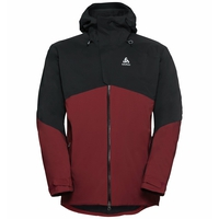 Jacket insulated SLY X, syrah - black, large