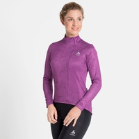 Damen ZEROWEIGHT CERAMIWARM Radsport Midlayer, hyacinth violet - graphic FW20, large