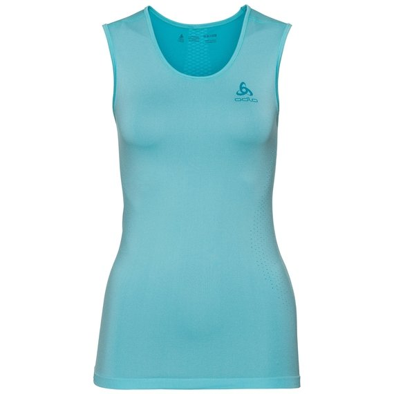 SUW TOP Crew neck Tank PERFORMANCE Essentials LIGHT, blue radiance - bluebird, large