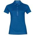 Polo s/s KOYA CERAMIWOOL, energy blue, large