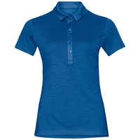 Polo manches courtes KOYA CERAMIWOOL, energy blue, large