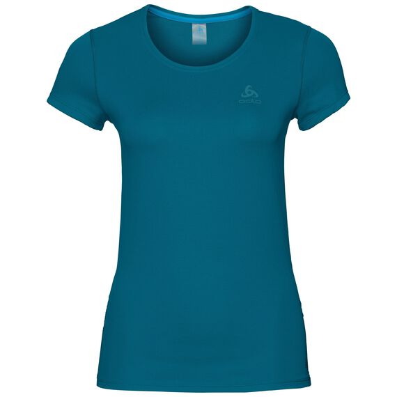 SUW TOP Crew neck s/s ACTIVE F-DRY LIGHT, crystal teal, large