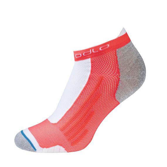 Socks low cut LIGHT, fiery coral, large