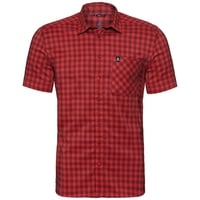 Chemise NIKKO CHECK, red dahlia - fiery red - check, large