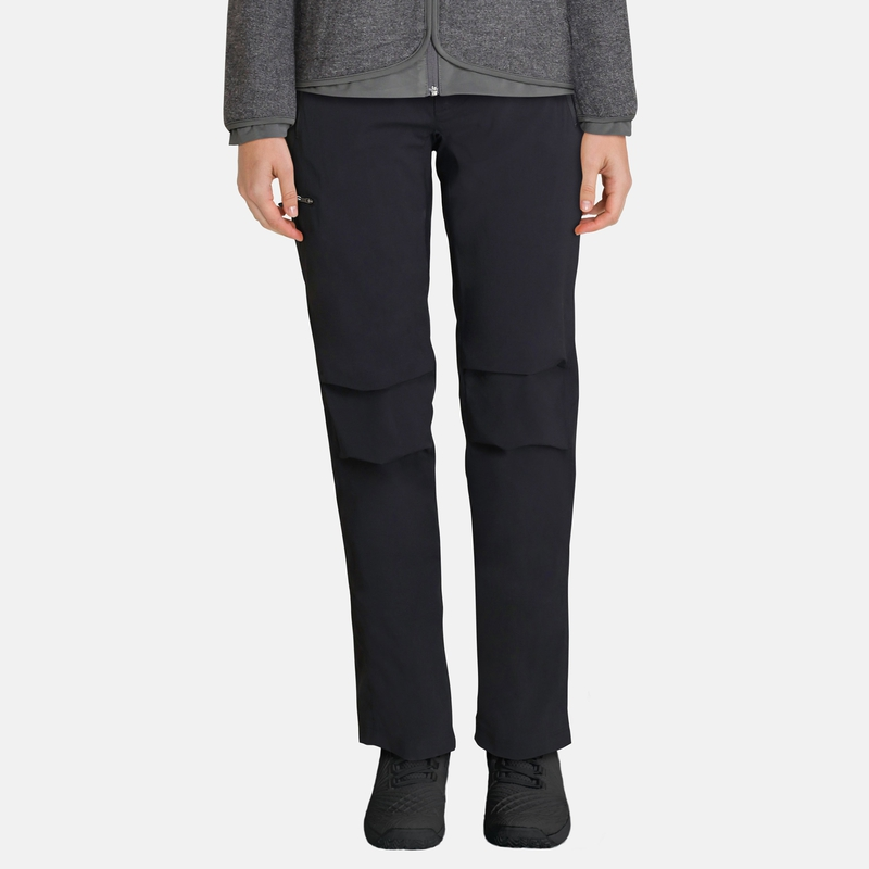 Women's Long-Length WEDGEMOUNT Pants, black, large