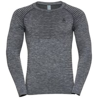 PERFORMANCE LIGHT Langarm-Shirt, grey melange, large