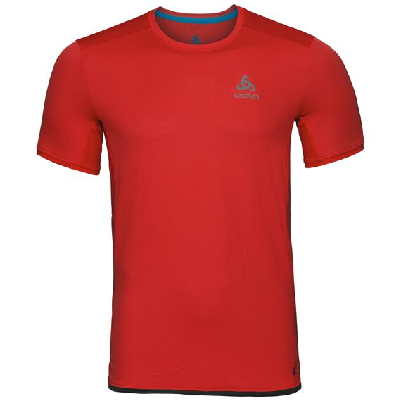 BL Top Crew neck s/s OMNIUS Light, fiery red, large