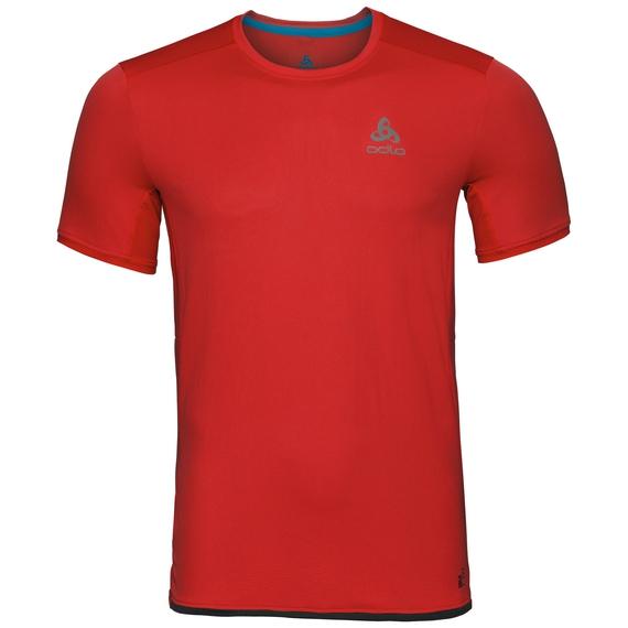 BL Top OMNIUS LIGHT kurzärmeliges Oberteil mit Rundhalsausschnitt, fiery red, large
