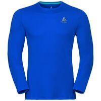 BL TOP Crew neck l/s SLIQ, energy blue, large