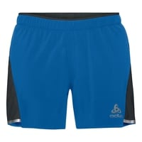 Men's ZEROWEIGHT CERAMICOOL LIGHT 2-In-1 Shorts, energy blue - black, large