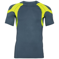 Men's ACTIVE SPINE LIGHT Base Layer T-Shirt, bering sea - safety yellow (neon), large