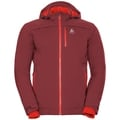 Jacket insulated FLOW COCOON ZW WATERPROOF, syrah, large