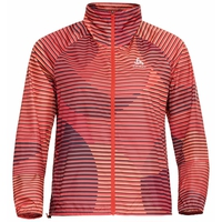 Women's ZEROWEIGHT AOP Jacket, hot coral - AOP SS20, large