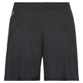 OMNIUS LIGHT Shorts mit Innenhose, black - odlo concrete grey - black- AOP FW18, large
