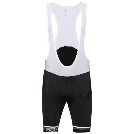 FLASH X bike bib shorts, black - white, large
