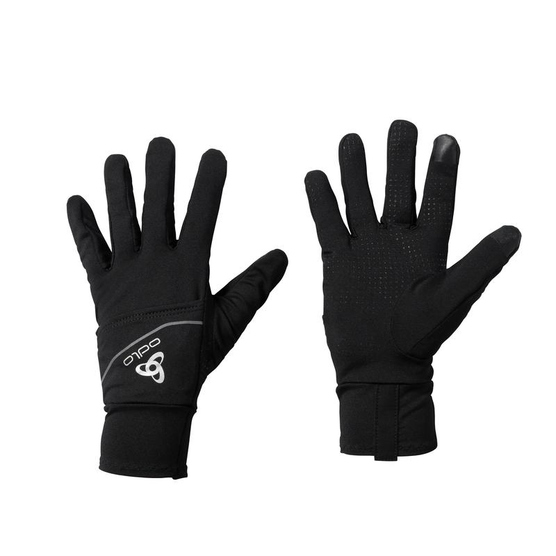 INTENSITY COVER SAFETY LIGHT Gloves, black, large