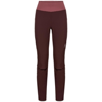 Pantalon AEOLUS pour femme, decadent chocolate - roan rouge, large