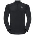 Couche intermédiaire 1/2 zip ZEROWEIGHT Warm, black, large