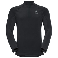 Midlayer 1/2 zip ZEROWEIGHT Warm, black, large