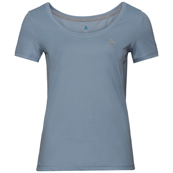 BL TOP F-DRY, faded denim, large