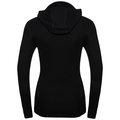 Women's ACTIVE WARM Long-Sleeve Base Layer Top with Face Mask, black, large