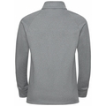 Kids' PAZOLA RIBBON Half-Zip Midlayer Top, grey melange - graphic FW20, large