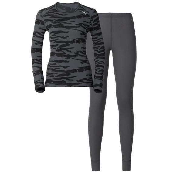 Set Warm GOD JUL, camouflage - ebony grey, large