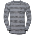 SUW Top Crew neck l/s ACTIVE Warm Kinship, grey melange, large