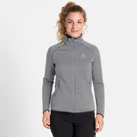 Women's CARVE CERAMIWARM Midlayer, grey melange, large