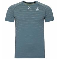Men's BLACKCOMB PRO T-Shirt, china blue - space dye, large