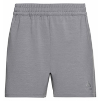 Damen MILLENIUM ELEMENT Laufshorts, grey melange, large