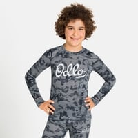 Top intimo Active Warm Originals Eco a manica lunga per bambini, grey melange - graphic FW20, large