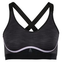 Sports Bra Zeroweight Medium, black - orchid petal, large