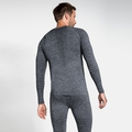 Men's PERFORMANCE LIGHT Long-Sleeve Base Layer Top, grey melange, large