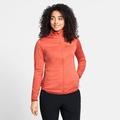 Women's STEAM Full-Zip Mid Layer, burnt sienna melange, large
