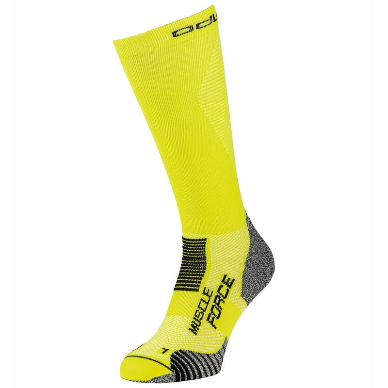 Chaussettes compressives CERAMICOOL MUSCLE FORCE, evening primrose, large