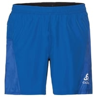 Shorts med innvendig truse OMNIUS LIGHT, energy blue - black, large