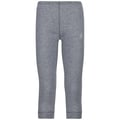 ACTIVE WARM KIDS Base Layer Pants, grey melange, large