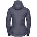 Jacket insulated FLOW COCOON ZW, odyssey gray, large