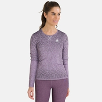Top térmico cuello redondo manga larga BLACKCOMB LIGHT, vintage violet - orchid petal, large